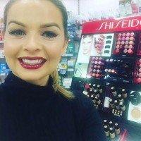 Danielle mahon- Shiseido- Makeup Artist